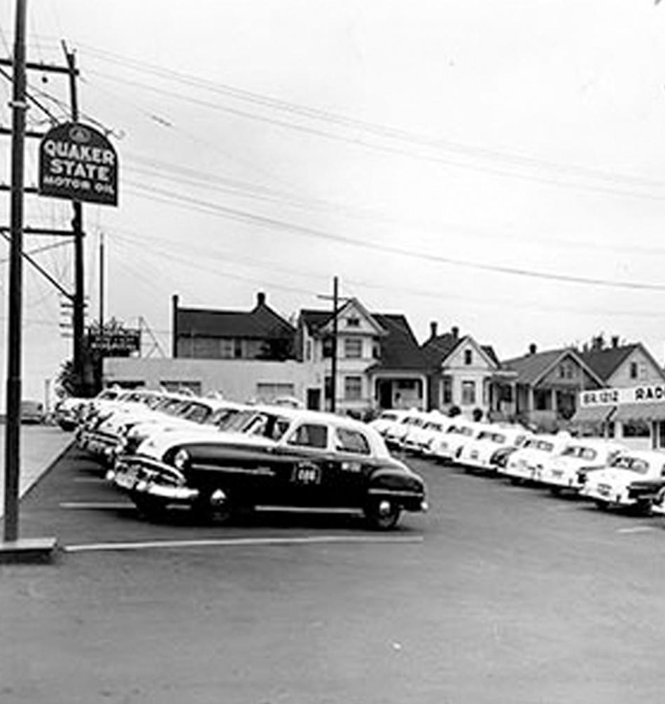 RADIO CAB HISTORY 1950'S
