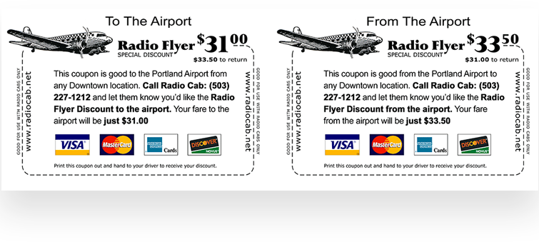 Radio Cab Flyer